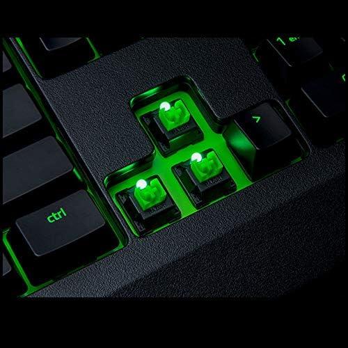 Esports Game Internet Cafe Notebook Desktop Computer Keyboard//USB Interface //-// Jian E /& Green Shaft Dustproof Waterproof Mechanical Keyboard 104 Key