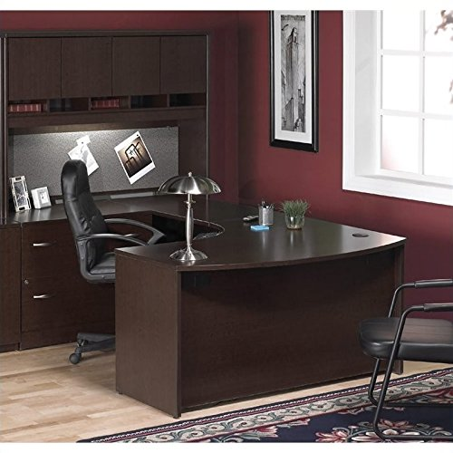 Bush Business Series C 4-Piece U-Shape Left-Hand Corner Desk
