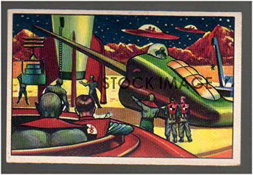 1951 Bowman jets rockets spacemen (Non-Sports) Card# 23 rocket repair and formula Q VG Condition ()