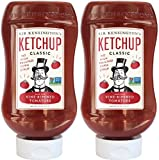 Sir Kensington s Classic Ketchup, 20-Ounce Squeeze Bottles (Pack of 2)