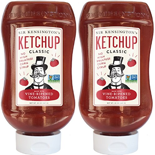 Sir Kensingtons Classic Ketchup  20 Ounce Squeeze Bottles  Pack Of 2