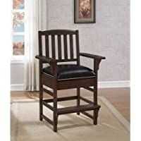 American Heritage 668181 King Chair Finish, Pewter