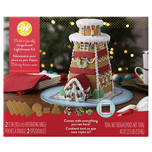 - Wilton Build-it-Yourself Gingerbread Lighthouse Decorating Kit