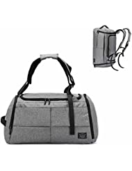Awaytoy Gym Duffel Bag Backpack with Shoes Compartment Code Lock for Travel Yoga Sports Swim