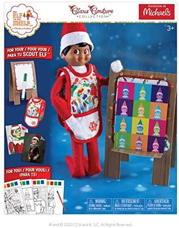 The Elf on the Shelf Arctic Artiste Claus Couture