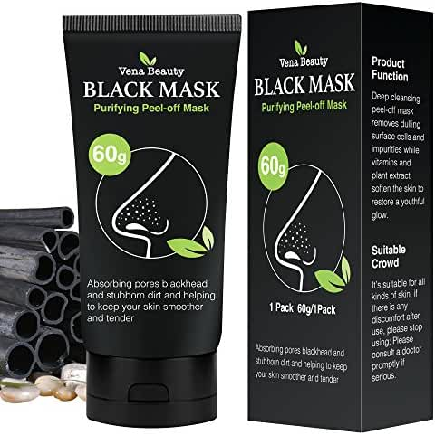 Bea Luz facial peel off black mask cleaning and moisturizing mask (60 g)