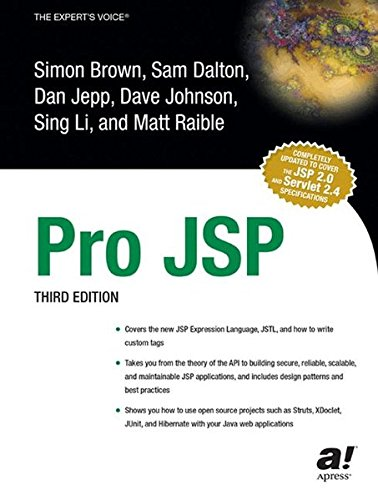 Pro JSP, Third Edition by Brand: Apress