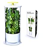 Breathable Fresh Herb Keeper and Herb Storage Container by NOVART – Keeps Greens and Vegetables Fresh for 2x Longer