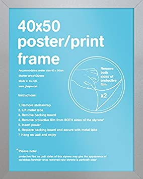 GB eye Ltd 40 x 50 cm FMMPA1OK Mini Poster Frame,Oak