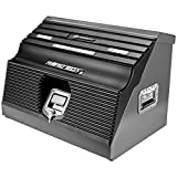 Powerbuilt 26'' Rapid Box Portable Slant Front Tool Box w/Tool Magnets - 240102