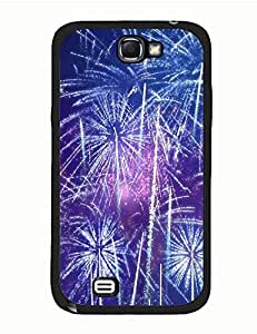 Epic Space Fireworks On Best Durable Protector Case for Samsung Galaxy Note 2 N7100