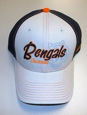 Reebok Cincinnati Bengals Gray Structured Adjustable Hat