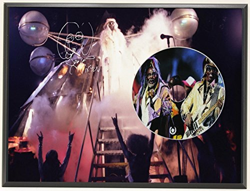 GEORGE CLINTON LTD EDITION SIGNATURE SERIES PICTURE CD DISPLAY - Clinton Outlets Stores
