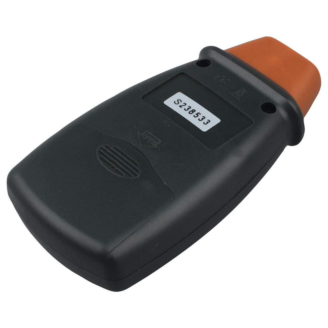 SeaStart Professionale Digitale Tacometro Foto Laser Senza Contatto RPM Tacometro Arancio Nero Tacometro