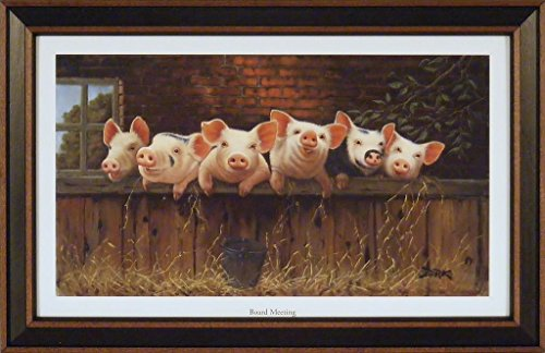 Board Meeting by Derk Hansen 15x23 Six L - Barnyard Wall Art Shopping Results