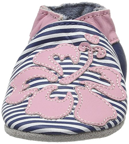 Robeez Hawaian - Zapatillas de casa Bebé-Niños Azul Marino