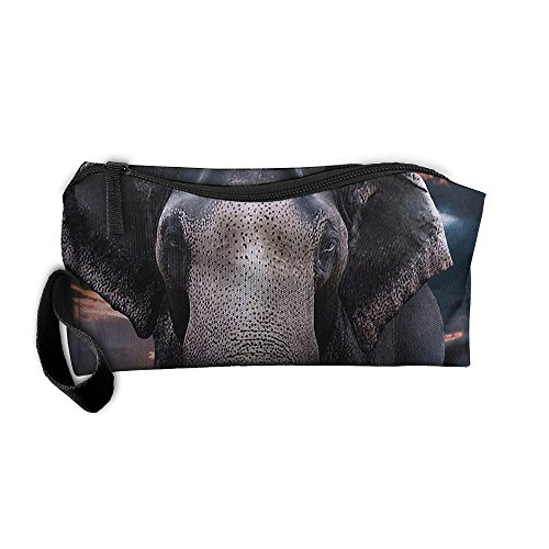 Portable Travel Storage Bags Elephant Clutch Wallets Pouch
