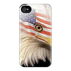 Excellent Iphone 4/4s Case Tpu Cover Back Skin Protector Americaneagle