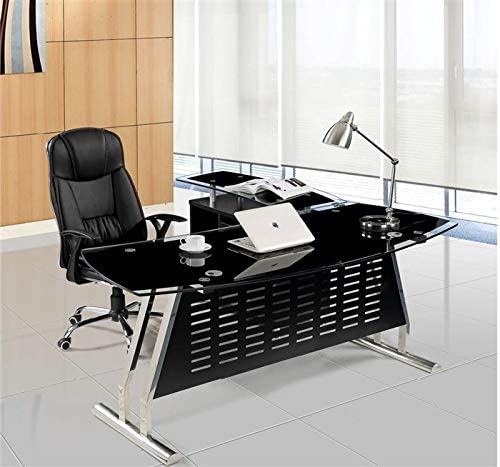 Grupo SDM Mesa despacho Escritorio Oval, Mueble a Izquierda ...