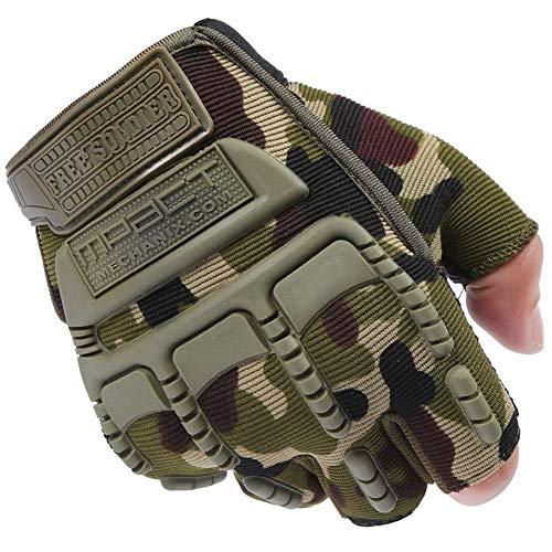 millet16zjh - Guantes tácticos para Hombre, diseño Militar, Camuflaje
