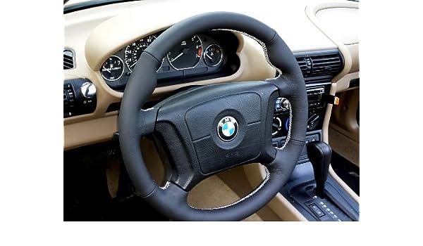 Amazon.com: RedlineGoods BMW X3 E83 2003-10 cubierta de volante 4v2 de: Automotive