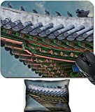 gable roof designs MSD Mouse Wrist Rest and Small Mousepad Set, 2pc Wrist Support design 34624426 The gable roof of Deoksugung palace Seoul South Korea