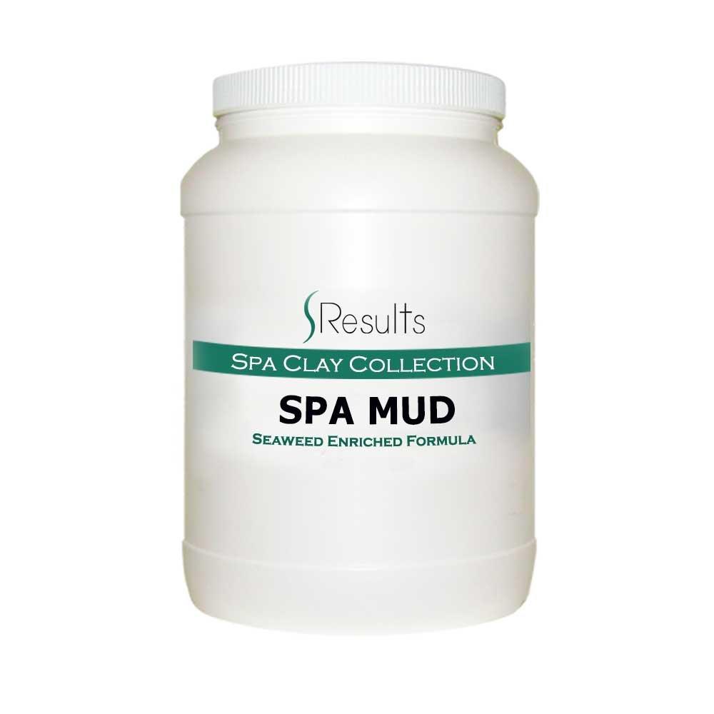 Spa Mud (Seaweed) Body Wrap Detox & Anti-cellulite Slimming Formula - x-large size jar for multiple treatments