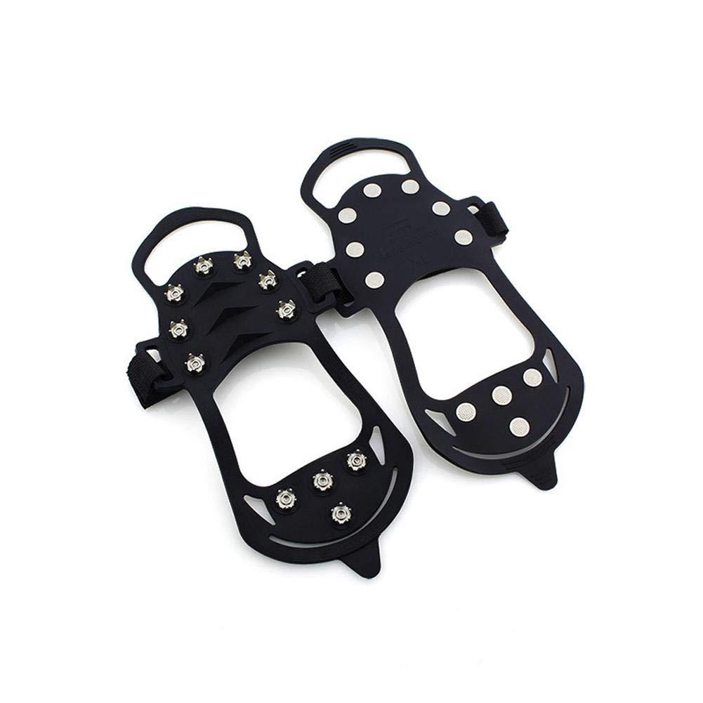 Beesuya Attelle de Traction pour 11 Types de Pince à Glace antidérapante pour Chaussures de Neige et de Ski