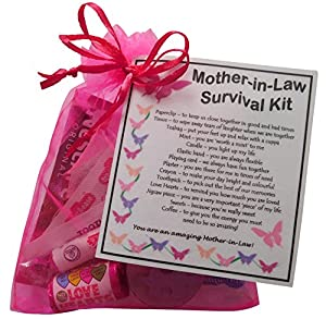 Mother in law survival kit gift great present for wedding for Mother in law house kit