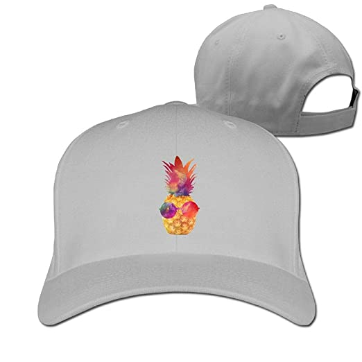 c2ce695c6c01d Baseball Cap Fruit Pineapple Dad Hat Adjustable Trucker Cap Ash at ...