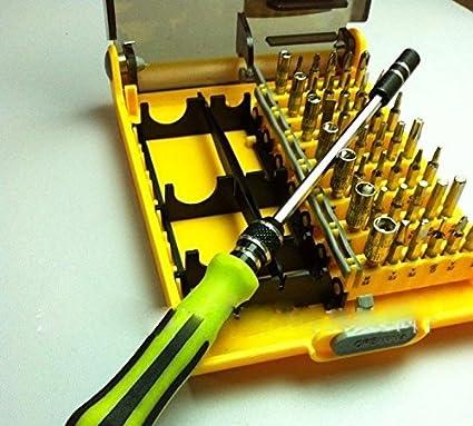 Ecloud Shop 45 in 1 screwdriver batch multifunction combination