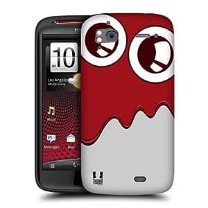 Head Case Designs Blood Melt Slime Monsters Protective Snap-on Hard Back Case Cover for HTC Sensation XE Sensation by ruishername