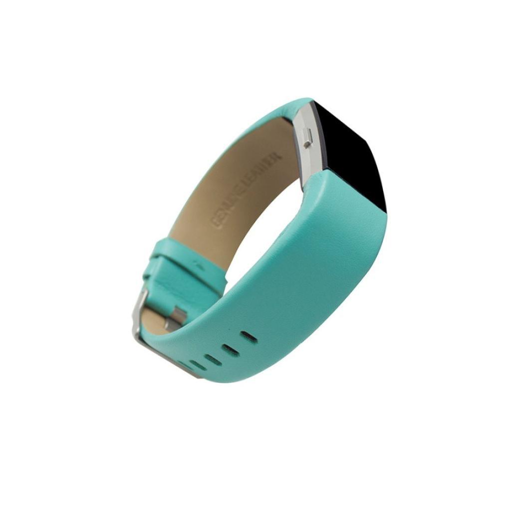 Fitbit Charge 2バンド、Liu Nianスポーツブレスレットストラップバンド交換用レディースガールズドレッシーWristbandsアクセサリーfor Fitbit Charge 2 Smart Watch Free Size グリーン グリーン グリーン B078HSDGD5