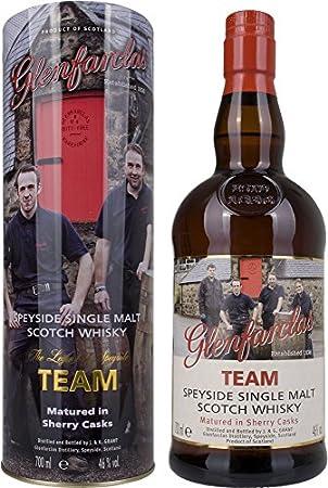 Glenfarclas Team Sherry Cask Speyside Single Malt Scotch Whisky in Gift Box - 700 ml