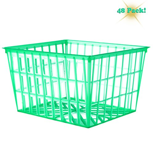 Plastic 48 Pack Baskets Open Weave Pattern product image
