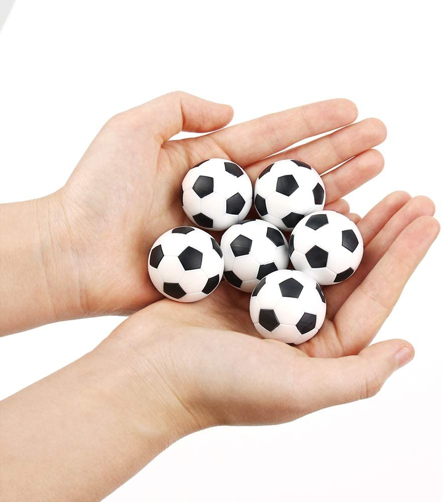6 Piezas 32 mm Futbolín-Bolas-Foosball,Balones de Fútbol, Etilo de ...