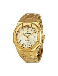 Audemars Piguet Royal Oak 18 Carat Yellow Gold Mens Watch 15450BA.OO.1256BA.01