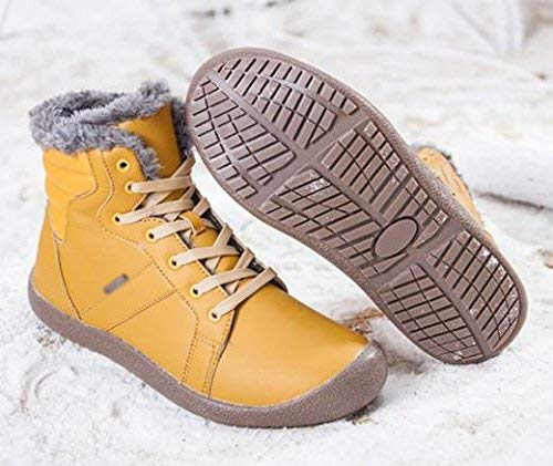 44 D'hiver Neige Jaune Taille Pour De Bottes Hommes 44 Oudan Imperméables coloré 8tEwHxnUq