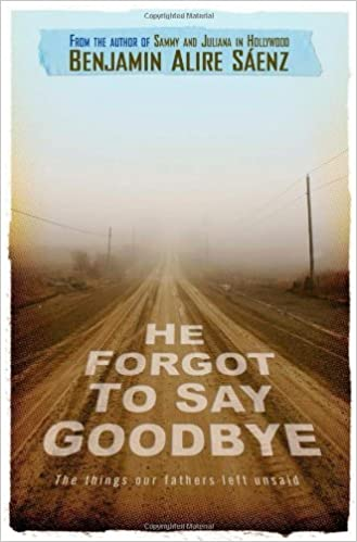 Book He Forgot to Say Goodbye by Benjamin Alire Saenz (2008-06-17)