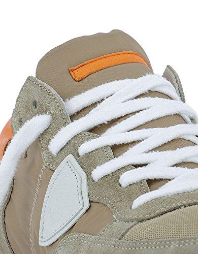 Philippe Model Sneakers Uomo TRLUWX39 Tessuto Marrone