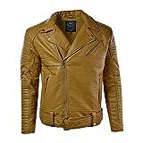 Jordan Craig Men's Moto Jacket Wheat 91243A (XL)