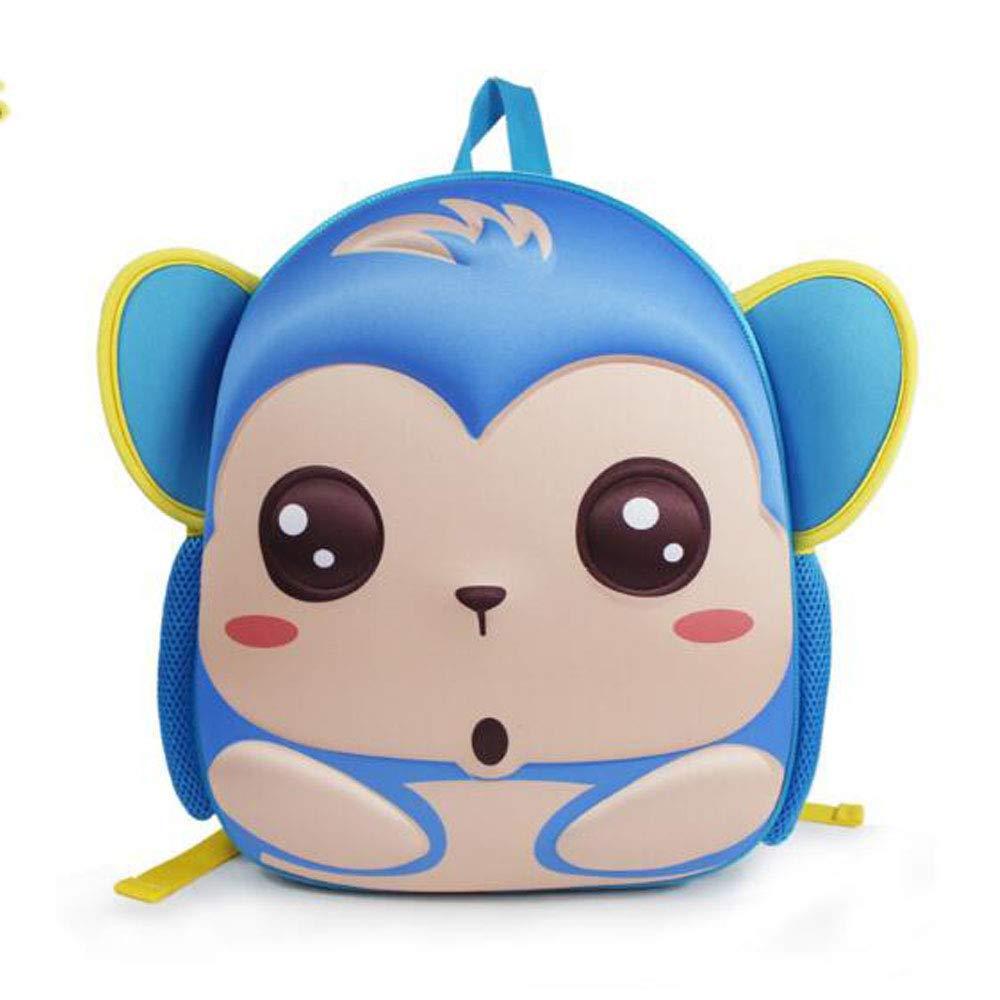 LS Ling Shi 子供用スクールバッグ - 子供用スクールバッグ 3Dステレオ 幼稚園 かわいい漫画バッグ 子供用バックパック 13インチ 子供用バッグ スクールバックパック B07P9ZPSN6 A