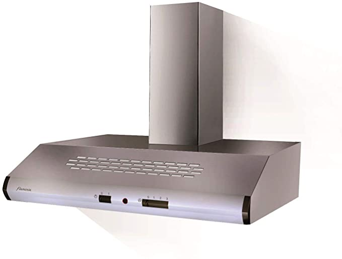 Cappa per cucina Aspirante a Parete 60x50 cm Inox 110.0154.566 ...