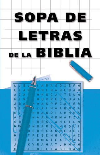 Sopa de Letras de la Biblia: Bible Word Search (Spanish Edition)