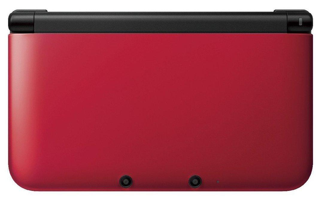 Nintendo 3DS XL Handheld System - Red/Black (Renewed)