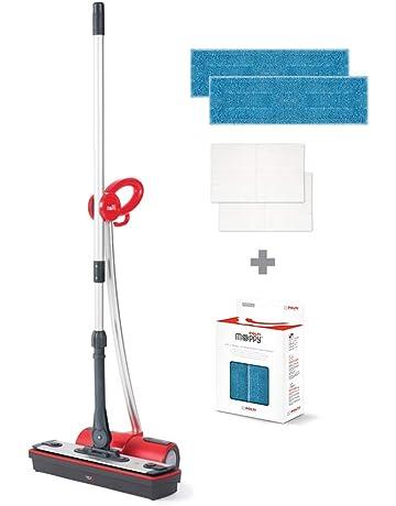 Polti Moppy - Limpiador a vapor sin cables para todo tipo de suelos y superficies verticales