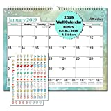 Large Wall Calendar 2019 Monthly