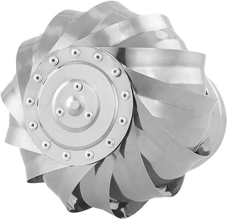 PrimeMatik Extracteur de fum/ées Rotatif galvanis/é pour po/êle pour Tube de 150 mm de diam/ètre