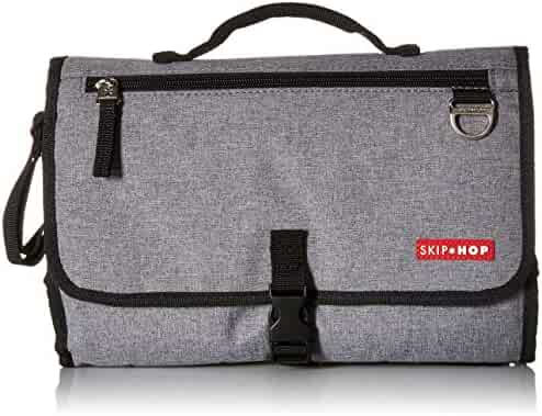 Skip Hop Pronto Signature Portable Changing Mat Station, Heather Grey