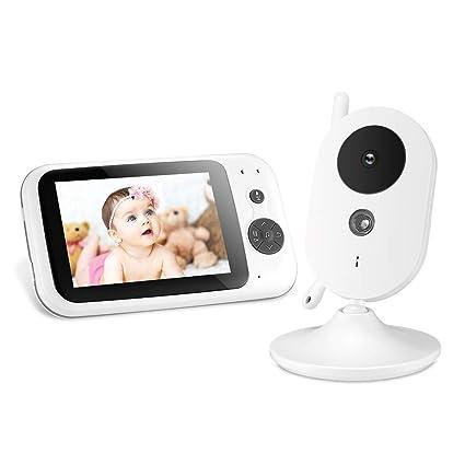 Baby Monitor Cámara Digital Inalámbrica en Tiempo Real Televisor LCD de 3.5